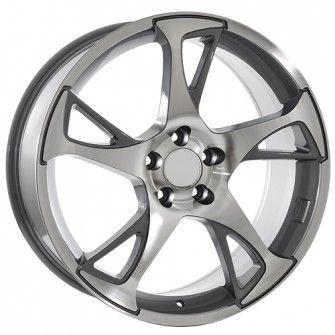 20 inch Machined w/ Gunmetal accents  Volkswagen wheels will fit -----> Tiguan (2007-2013) Passat CC (2008-2013)