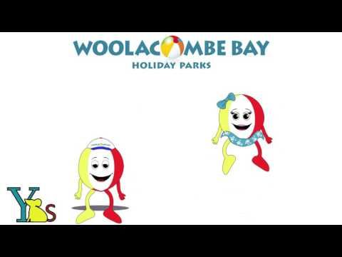 Woolacombe Bay Holiday Park bouncing Mascots 2017 - YouTube