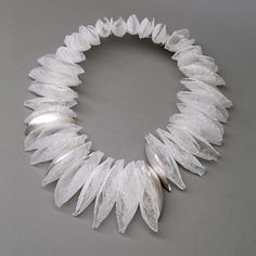 Frost Neckpiece from Kayo Saito - polyester fibre