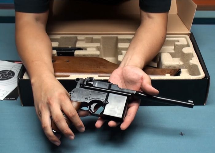 Airsoft Taiwan: WE M712 GBB Pistol Debut | Weapon | Airsoft, Hand