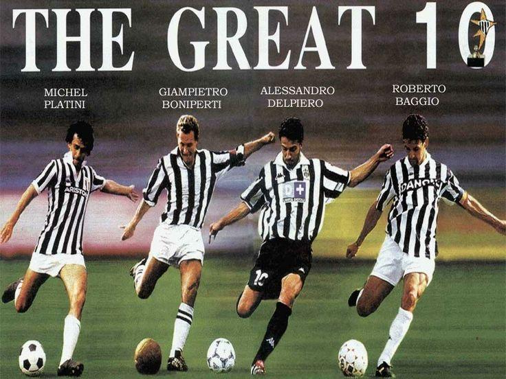 The Great 10!!! #ForzaJuve