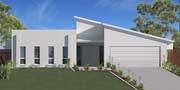 Austart Home Designs: Regent 312-BLC-2600: Optional Facade 1. Visit www.localbuilders.com.au to find your ideal home design in Tasmania