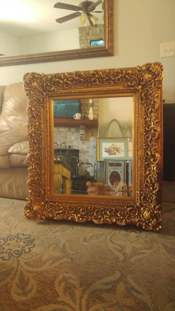 Ornate Mirror Makeover Just Paint But Prime Prime Prime
