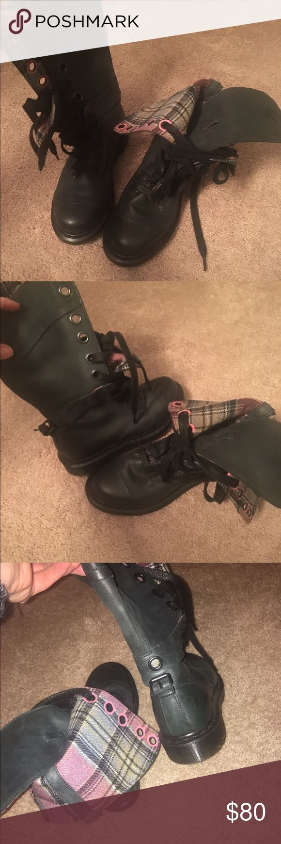 Dr martens women's boot High boots size 7 like new Dr. Martens Shoes Combat & Moto Boots