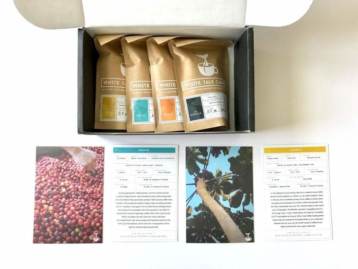 White Tale Coffee Subscription