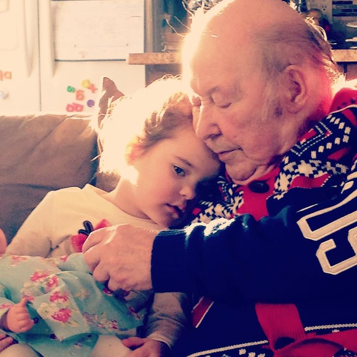 #greatgrandfather and #greatgranddaughter moments like this melt my heart