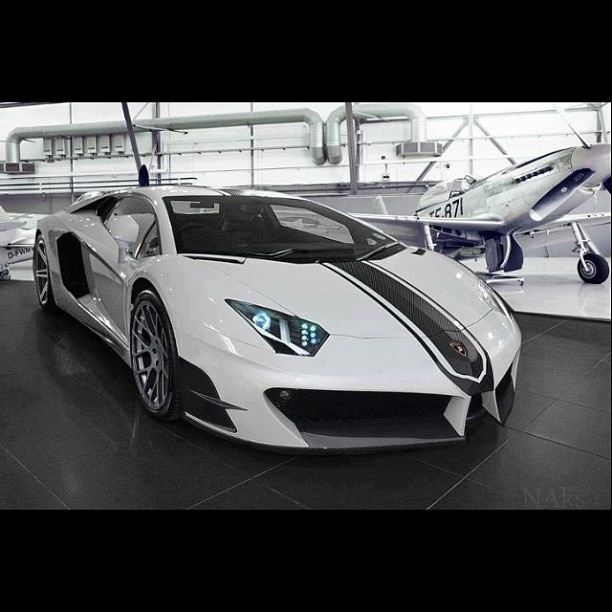 Awesome Custom U0027Stingeru0027 Lamborghini Aventador Do Like
