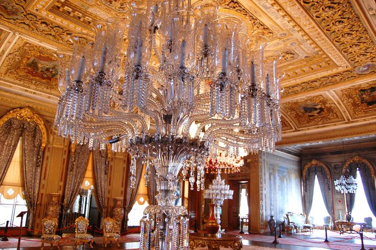 Dolmabahce Palace  Blue Hall