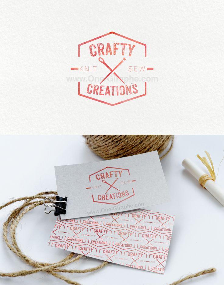 Upgrade!!! #logo #logodesign #graphicdesign #graphic #design #craft #crafty #logodesigner #sew #knit #businesscard #behance #logopond #brandstack #stocklogos