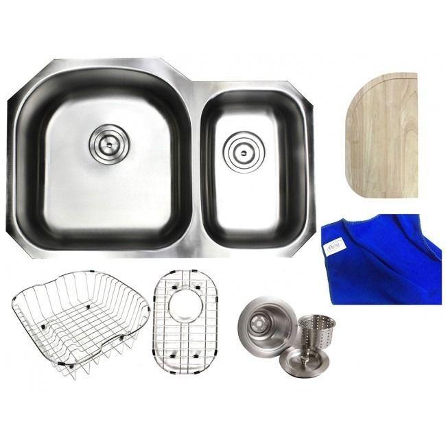 Double Bowl Kitchen Sink Sizes
