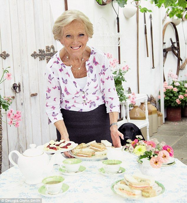 Some of the recipes from Mary Berry's new series. I just love her!