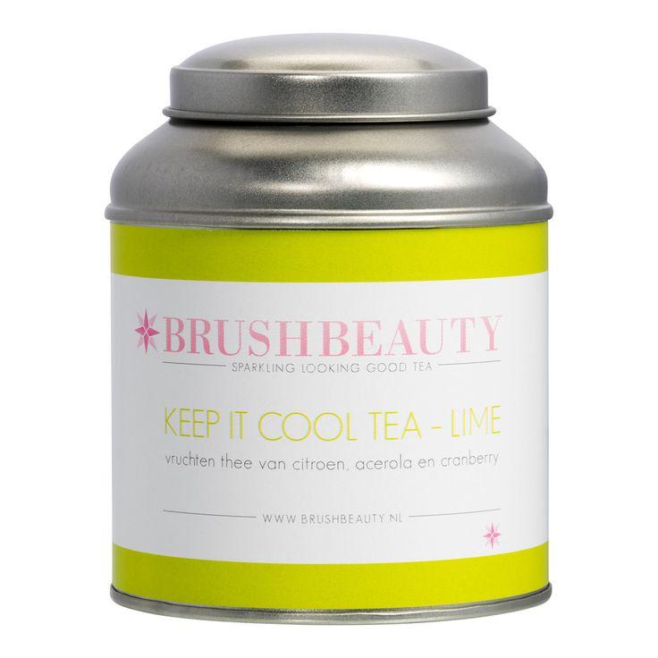 KEEP IT COOL - LIME Pure vruchten (ijs)thee met citroen, acerola en cranberry.