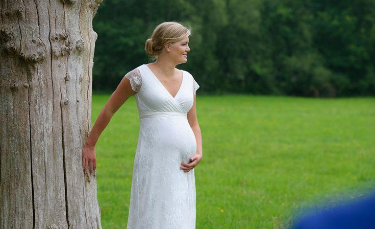 Zwangere bruid, Fotograaf Groningen, Trouwreportages, bruidsfotograaf