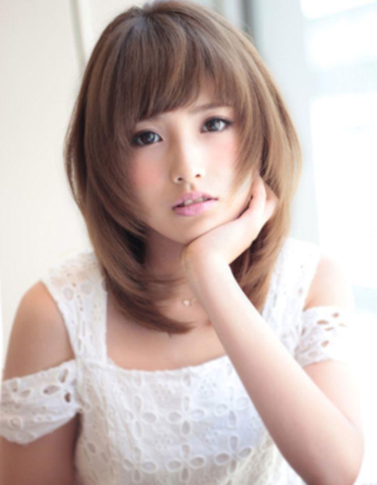 柔らかミディアム(KU-139) | ヘアカタログ・髪型・ヘアスタイル|AFLOAT(アフロート)表参道・銀座・名古屋の美容室・美容院