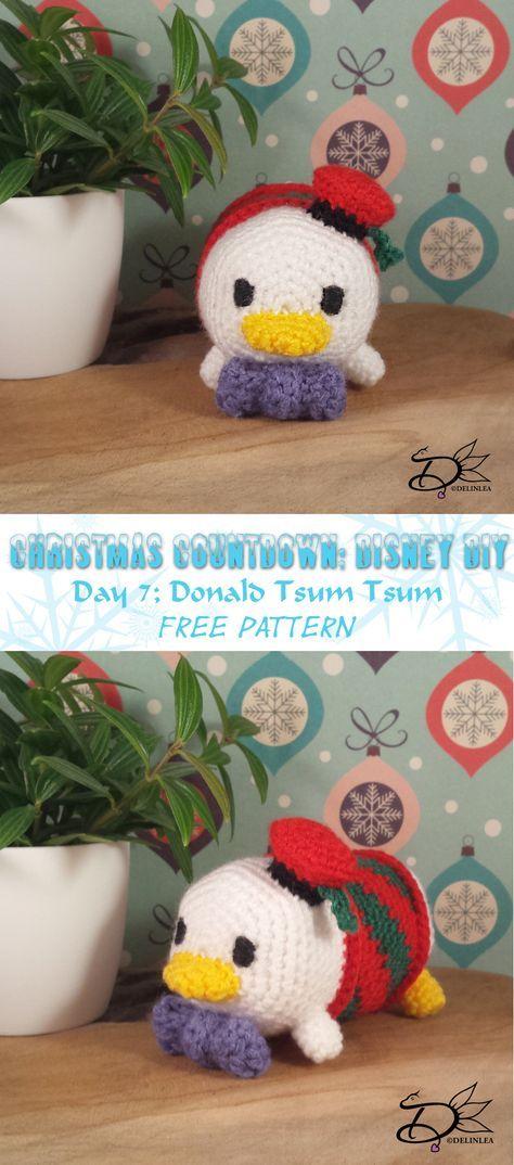 Donald Duck Tsum Tsum Amigurumi With Free Pattern Crochet Patterns