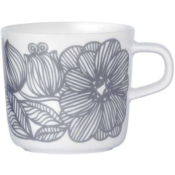 Marimekko Kurjenpolvi coffee cup found on Polyvore