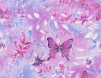 Цветочный фон - Бесшовные фоны