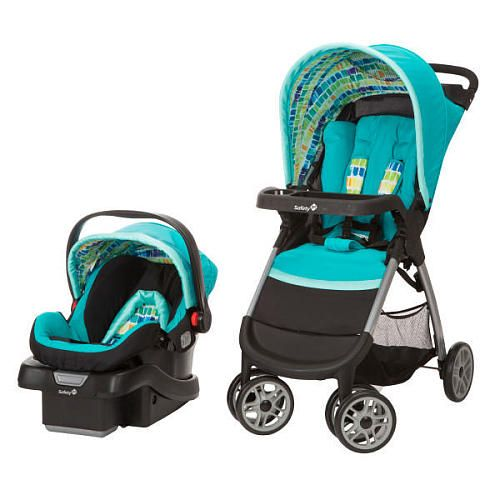Safety 1st Amble Quad Travel System with OnBoard 30 Infant ...
