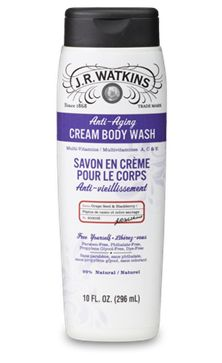 "Anti-Aging Body Wash Watkins Natural Products  Want to place an order ... go to www.jrwatkins.com Click top right corner ""Sign In/Create Account"" Click ""Create a Watkins Customer Account"" Fill out the form and on the right hand side click ""I shop with a J.R. Watkins Consultant"". Enter 645274 in ""My Consultant Number"" Sign up at www.respectedhomebusiness.com/645274"