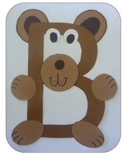 """We super love this letter craft idea. It helps toddlers learn the alphabet quickly and also provides them lots of entertainment when creating their own """"animal letters."""""""