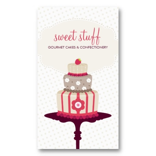 25 best Cake Pops Business Cards images on Pinterest Cards - birthday cake card template