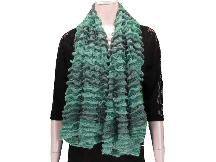 Mint This Ruffled Tube Scarf can be worn as a shorty infinity, or as a long scarf. Ruffled layers provide extra softness and lightness to the scarf, with beautiful colours to match any outfit! Available in Black, White/Grey, Pink, Coral, Red, Mint, Royal.