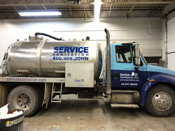 Service Sanitation Truck. Look Good, No Matter What Line Of Work Youu0027re
