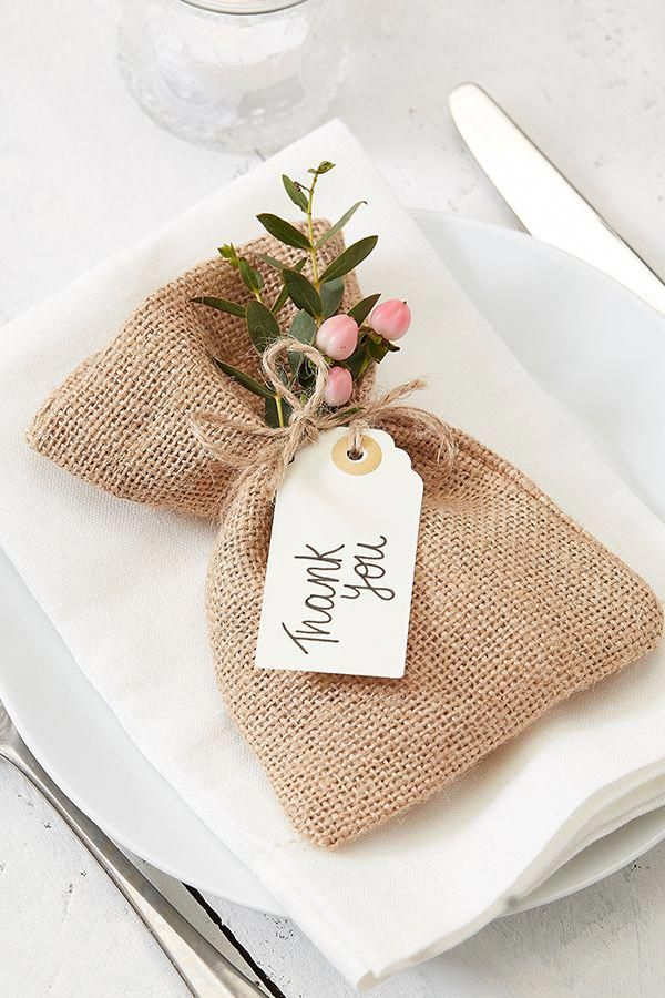 Wedding favours will add a personal touch to your bridal table and show apprecia…