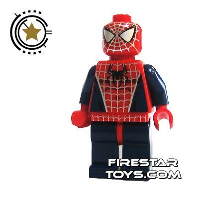 Lego spiderman minifigure spiderman evins stuff he - Spiderman batman lego ...