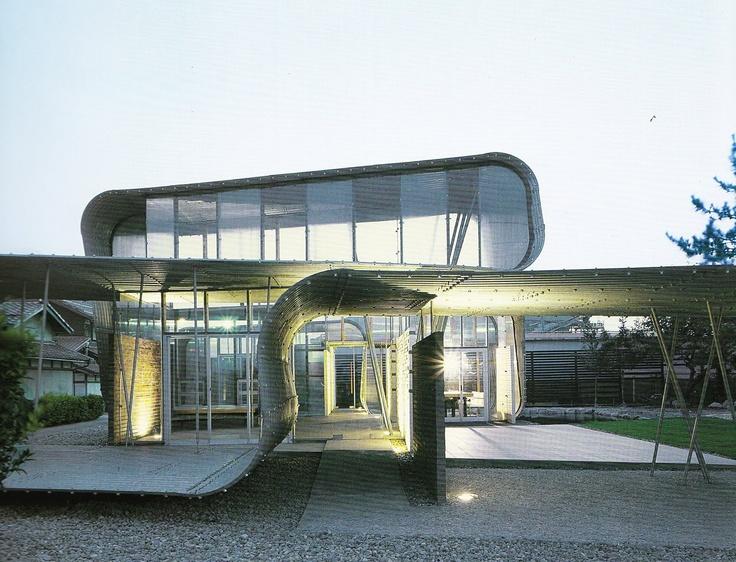 Endo Shuhei, Shiga Japan, fold and unfolding architecture.