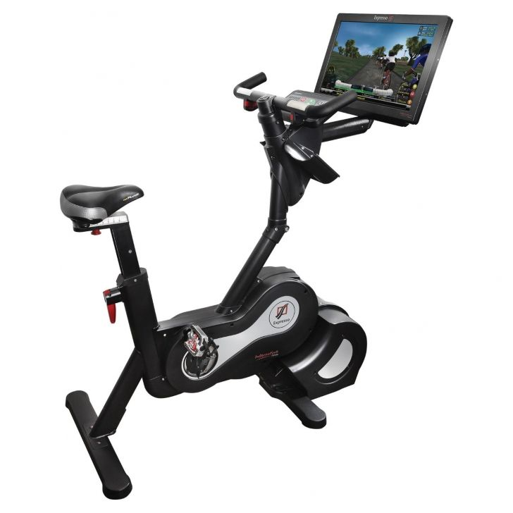 Expresso HD Upright Bike   Design Fitness Powered by soOlis