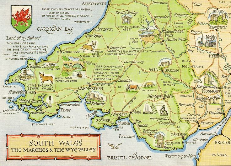Best Map Of South Wales Ideas On Pinterest Wales Tourism - Sweden map in english