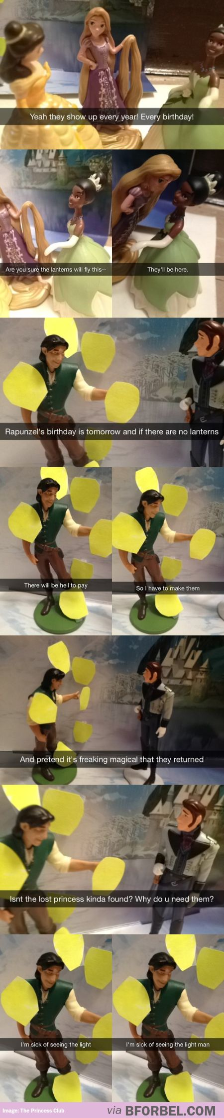 Flynn Rider Has Had Enough…