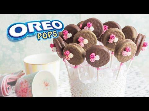 Oreo Pops | #8 Mesa dulce para Baby Shower | Quiero Cupcakes! - YouTube