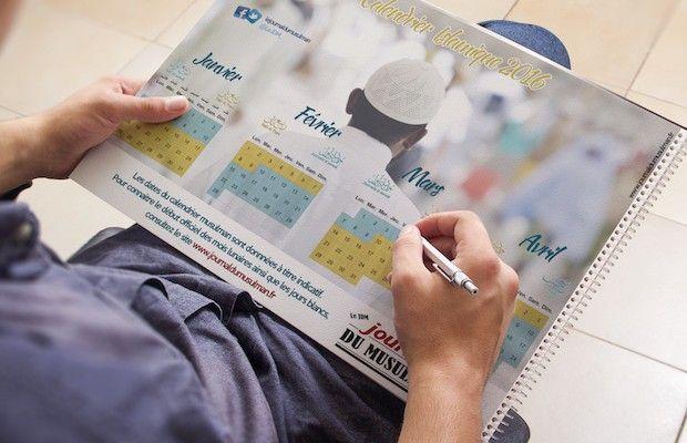 En PDF et gratuit calendrier musulman 2016 1437