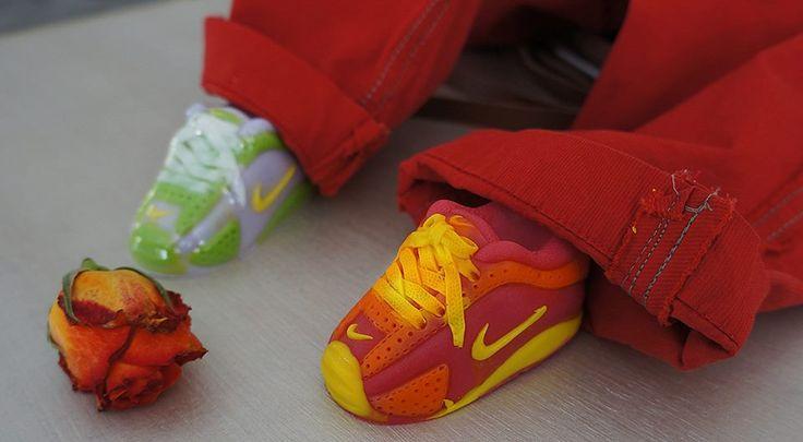 Μπομπονίερα Παπουτσάκι Σαπουνάκι Nike!