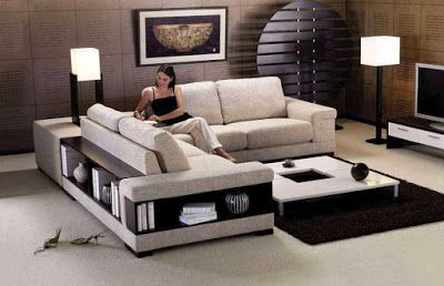 modern corner sofa sets latest living room furniture ...