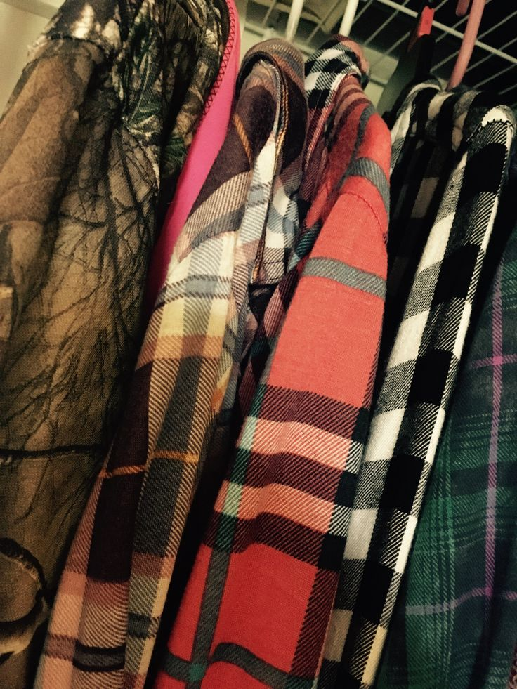 Country girl problems: my closet is full of flannels and camo