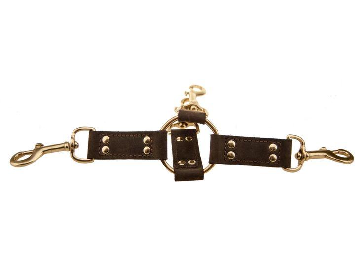 BOUND Nubuck Leather 4 Way Hog Tie //Price: $14.15 & FREE Shipping //     #hashtag1