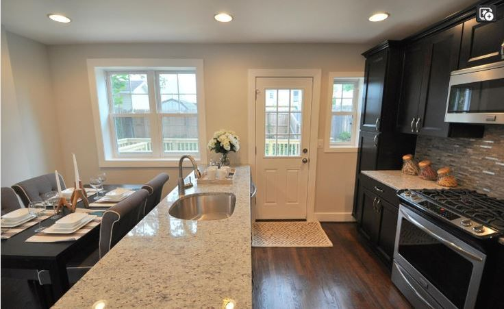 Fairlington like remodel dream house kitchen for Townhouse kitchen ideas