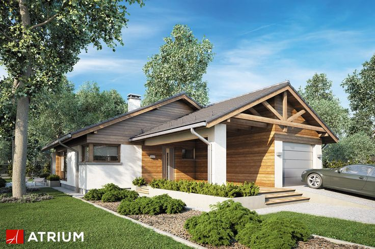 Projekt Pelikan III Plus - elewacja domu