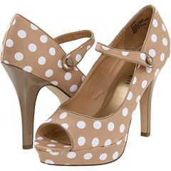 Madden girl, polka dot shoe, 42.99