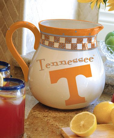 Take a look at this Tennessee Game Day Pitcher by The Memory Company on #zulily today!