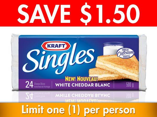Kraft Canada Singles #Coupon!