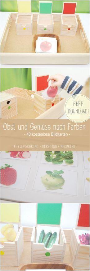 40 kostenlose Bildkarten habe ich für euch erstel…
