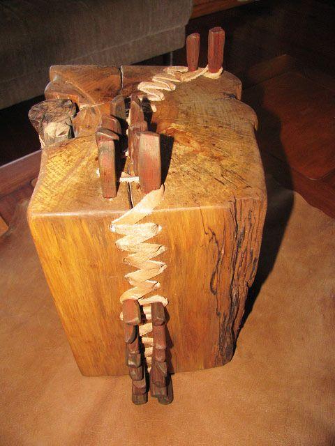 Maderas de Chiloé. Reciclaje de Alerce, raulí y cueros.