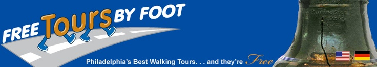 Free Tours by Foot is pleased to present the only Free, tip-based Philadelphia walking tours. These unique and entertaining tours will take you through many of Philly's most interesting neighborhoods.    Also in NY, Washington, and New Orleans.