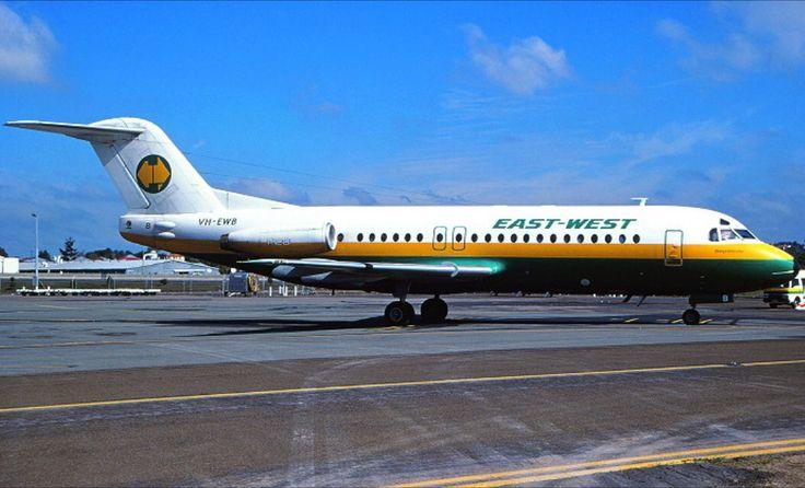 East West Fokker F28-4174 Fellowship (VH-EWB)