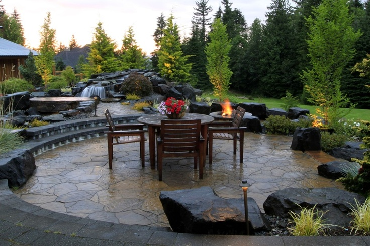 Stunning pacific northwest backyard and patio from 1 of 8