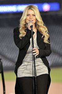 Jessica Ann Simpson  Grew up in Dallas.      an American recording artist,[2] actress, television personality and fashion designer whose rise to fame began in 1999. ... Simpson has made many recordings, starred in several television shows, movies and commercials, launched a line of hair and beauty products and designed fragrances, shoes and handbags for women. She has devoted time to philanthropic efforts including Operation Smile and a USO-hosted tour for troops stationed overseas.